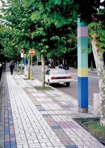 札幌都心部ロマネット計画 近代美術館周辺-1 1994年