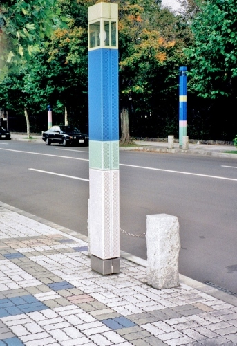 札幌都心部ロマネット計画 近代美術館周辺-2 1994年