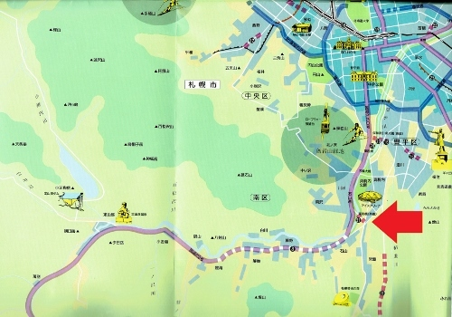 第10次道路整備5ヶ年計画概要図-2 1987年