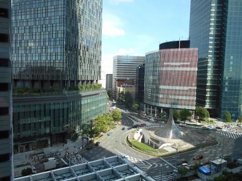 JR名古屋駅前 JRタワーから