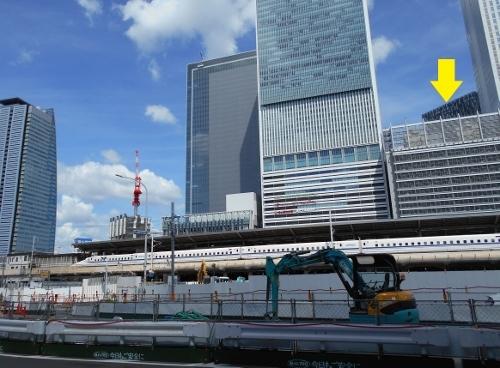 名古屋駅西口から大名古屋ビルヂング 2019年