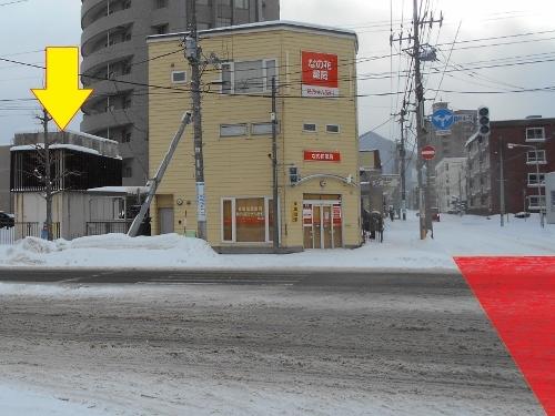 地下鉄琴似駅 東改札口地上付近