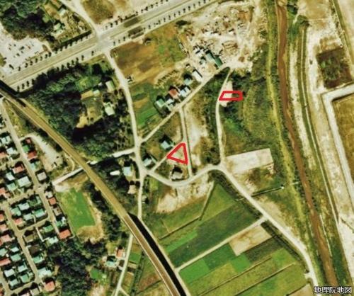 空中写真1976年 下野幌まるやま公園 下野幌のっぽろがわ公園
