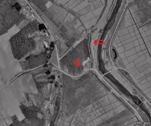 空中写真1961年 下野幌まるやま公園 下野幌のっぽろがわ公園