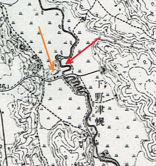 地形図 1916年測図1918年発行「月寒」下野幌「まるやま」付近