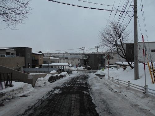市道下野幌線①