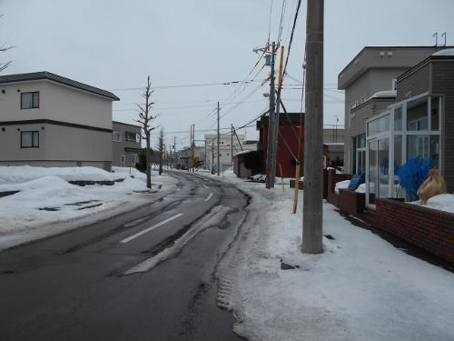 市道下野幌線⑤