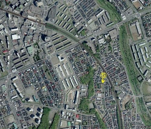 空中写真2008年 青葉町13丁目 藤景園付近