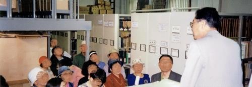 札幌建築鑑賞会見学会 1993年7月 資料館-文化資料室書庫
