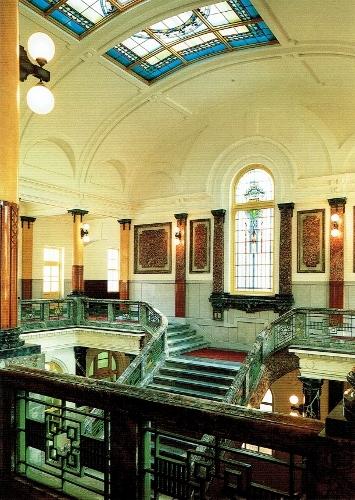 旧名古屋控訴院 アトリウム 天井