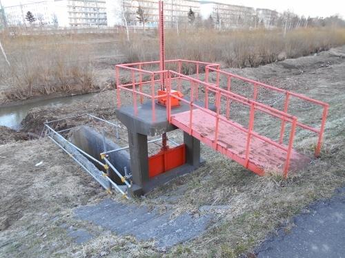 下野幌第1排水 樋門