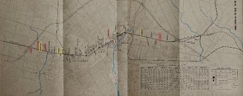 函館本線踏切立体交差化計画 添付図 踏切名