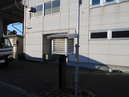JR北海道 札幌補選所 百葉箱
