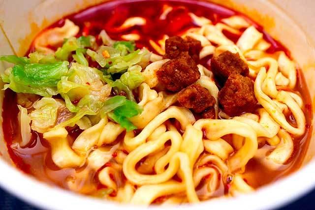 サンヨー食品 「麺創研紅監修 鬼紅 濃厚激辛味噌」