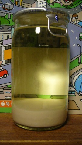 富士冠雪にごり酒②P1190988