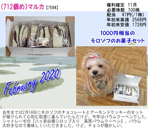 (712)2020年02月到着 マルカ