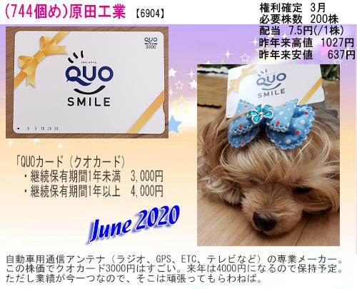 (744)2020年06月到着 原田工業