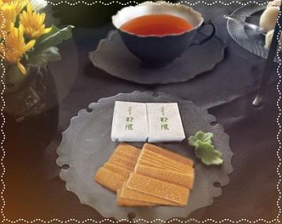 2020年08月06日雪太郎さんからお菓子と紅茶をいただきました