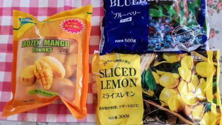 業務スーパー冷凍フルーツ