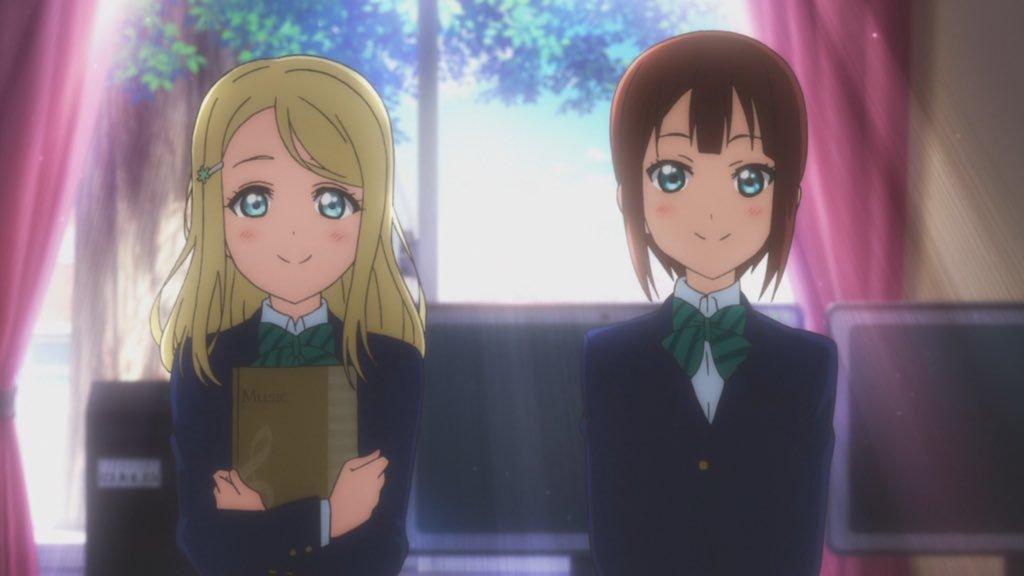 朗報 高坂雪穂と絢瀬亜里沙 スノハレを歌う ラブライブ ラブライブ まとめちゃんねる