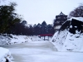 弘前城である
