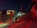 夜の奈良線