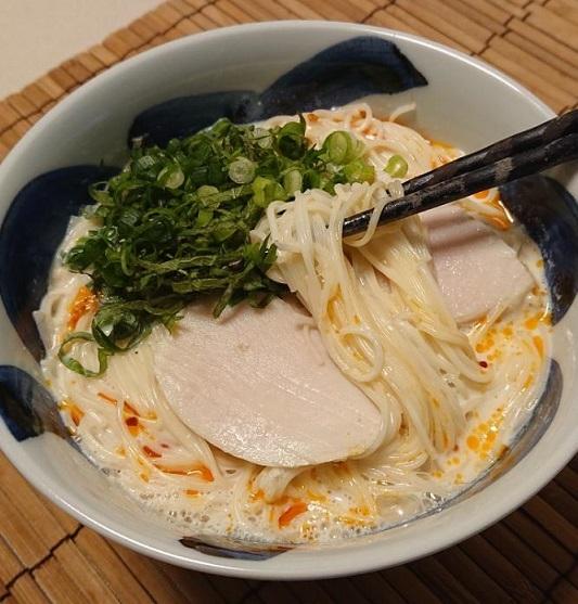 """""""豆乳スープの素麺""""9"""