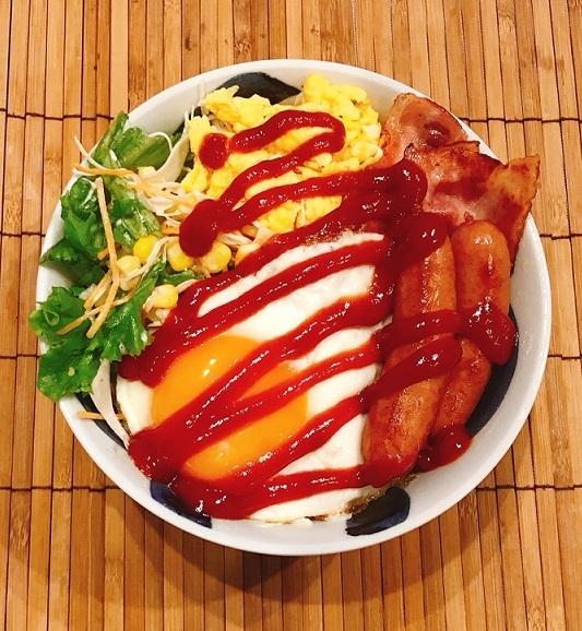 モーニング・ザ・洋朝食丼8