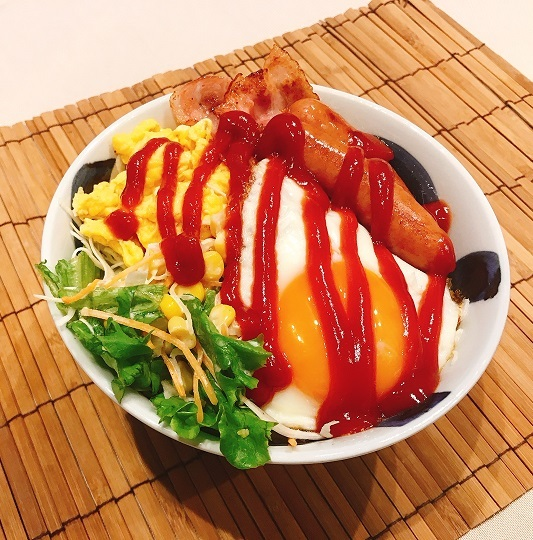 モーニング・ザ・洋朝食丼9