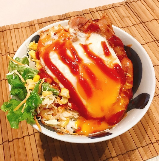 モーニング・ザ・洋朝食丼10
