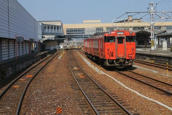 岩徳線キハ47 岩国駅