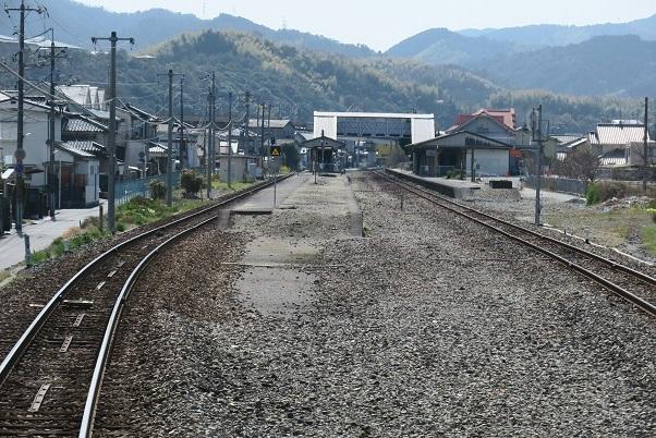 岩徳線前面展望 西岩国駅 2