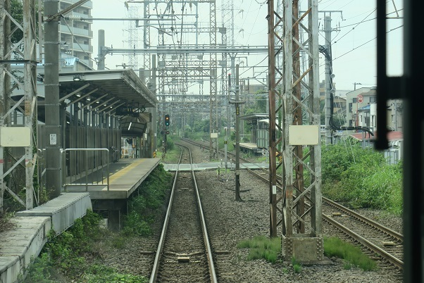 南武線支線前面展望 小田栄駅