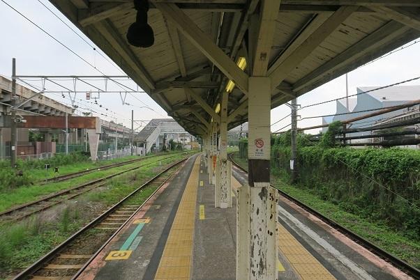 鶴見線浜川崎駅 ホーム