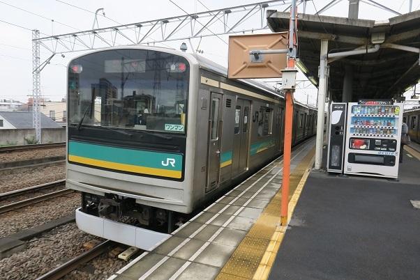 南武線支線205系 尻手駅 2