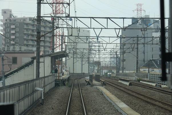 南武線支線前面展望 八丁畷駅