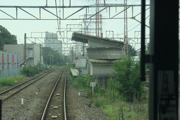 南武線支線前面展望 川崎新町駅