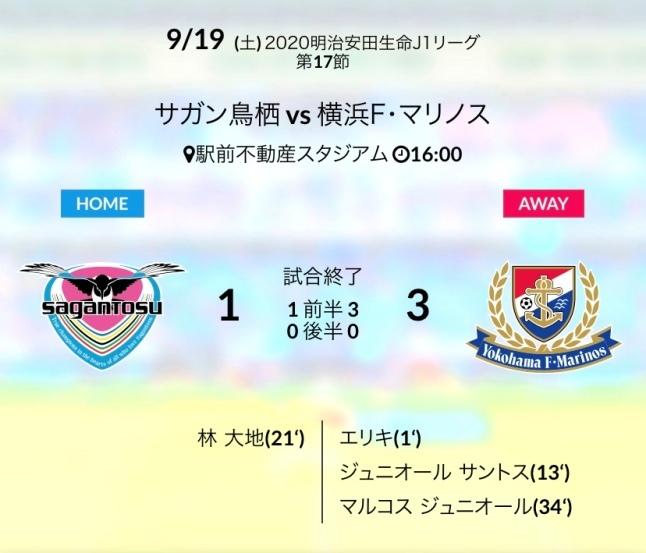 横浜FM戦結果