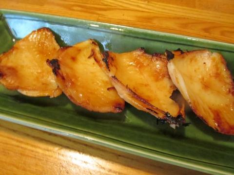 カワハギの味噌漬け2