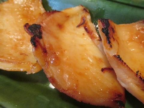 カワハギの味噌漬けアップ1