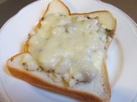 サバ缶チーズトースト1