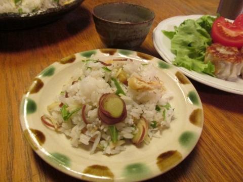 シラスと茗荷のまぜ寿司取り皿1