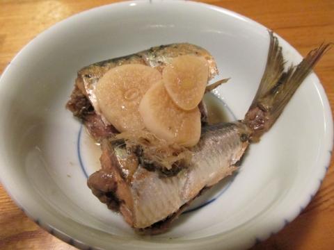 イワシの酢煮1
