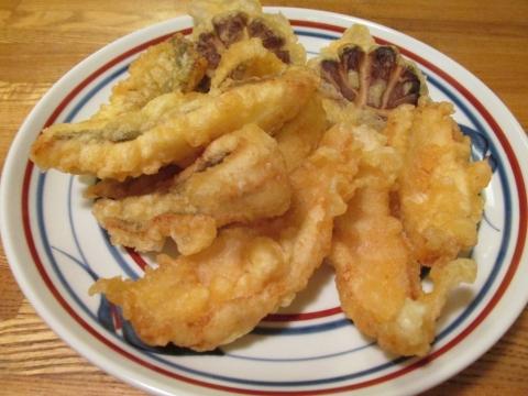 ムシガレイの天ぷら3