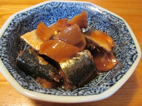 マイワシの生姜煮2