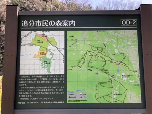 追分市民の森地図