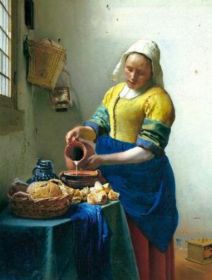 牛乳を注ぐ女のコピー2