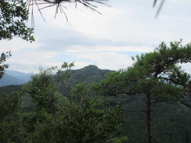 IMG0016JPG東稜より弓張岳
