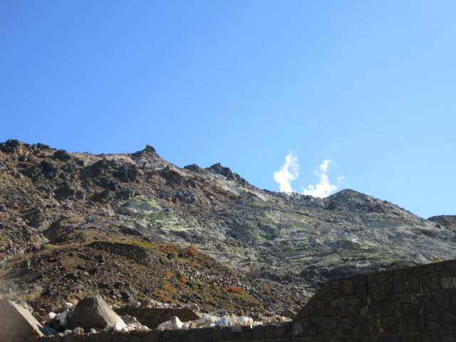 IMG0041JPG鉱山道路から硫黄山