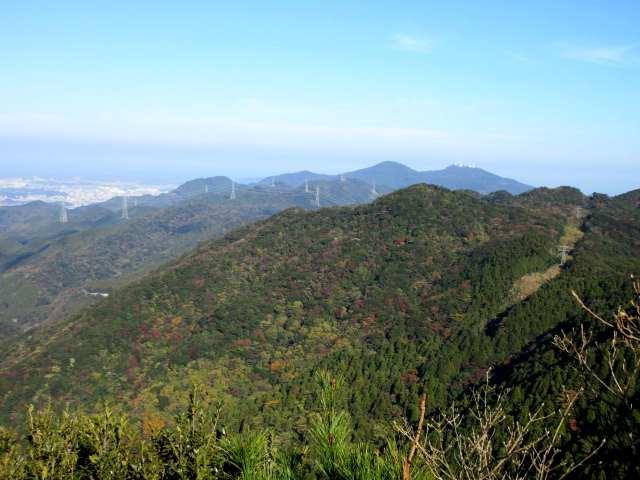 IMG0009JPG尺岳から皿倉山方面